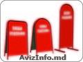 Изготовление рекламных штендеров на заказ Кишинев.Металлконструкций на заказ