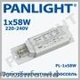 BALAST ELECTRONIC,  BALAST ELECTRONIC PENTRU TUBURI FLUORESCENTE,  PANLIGHT,  LED