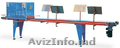 Конвейер тепличный для горшков,  лотков (кассет) NTA,  NTV URBINATI