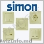 Prize si intrerupatoare Simon Electric N1in Barselona in Moldova,  prize intreru